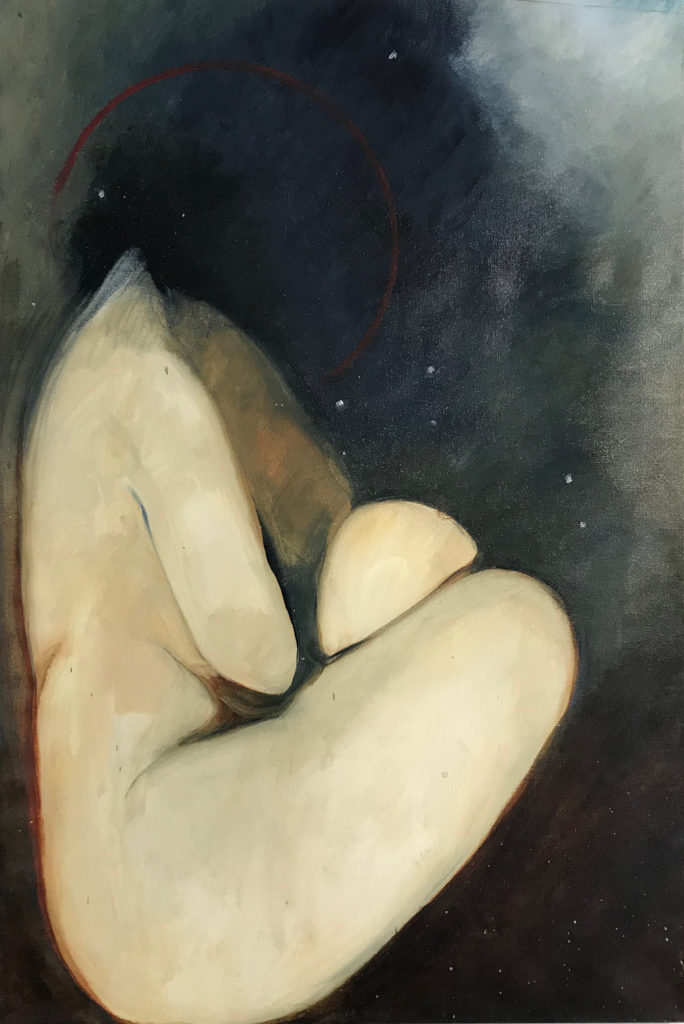 Image of a nude form and space